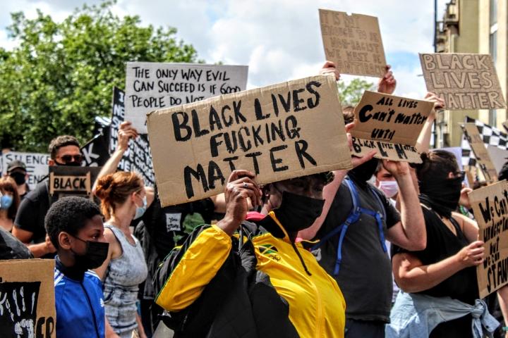 #BlackLivesMatter: Fotogalería de las marchas contra el racismo en Bristol