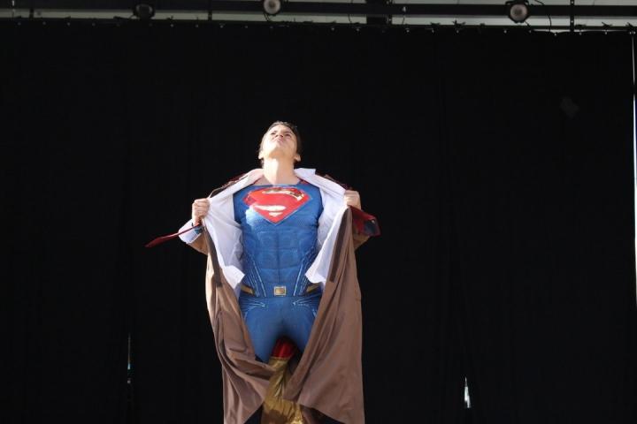 Supér Man cosplay