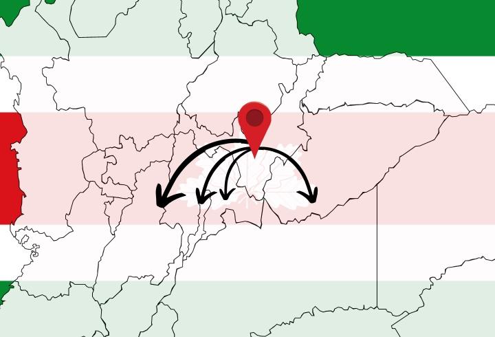 Las vías que conectan a Boyacá con el centro del país se mantiene bloqueadas, lo que no permite el paso continuo de alimentos