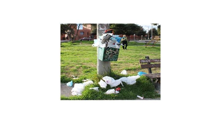 La acumulación desmedida de basura