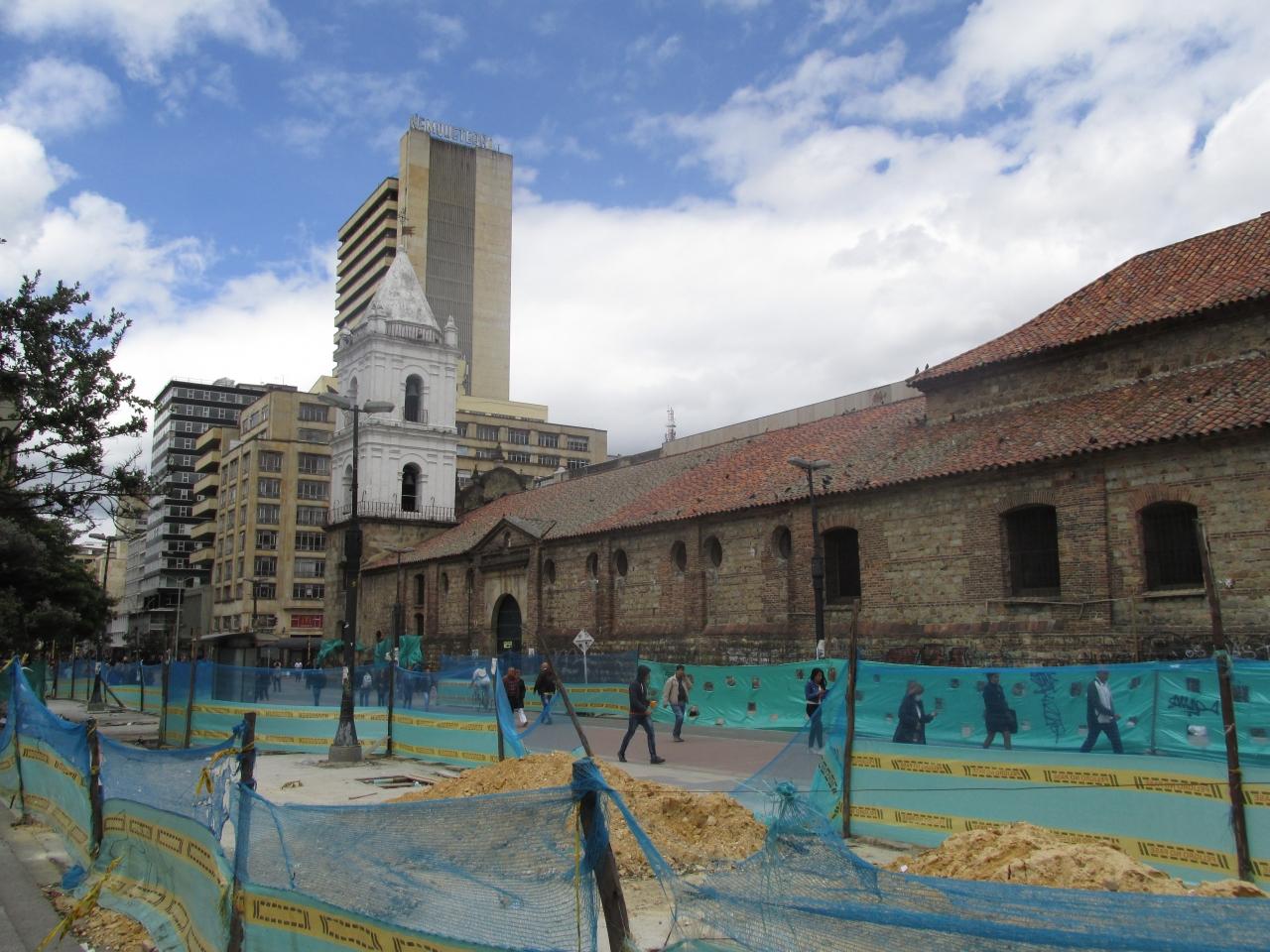 Con un retraso del 16%, así avanza la peatonalización de la Carrera Séptima en el centro de Bogotá