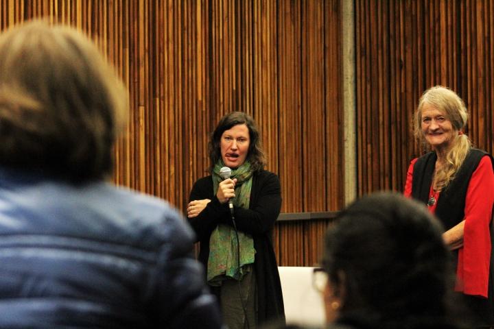 Las protagonistas del documental 'Amazona' en la Filbo 2018