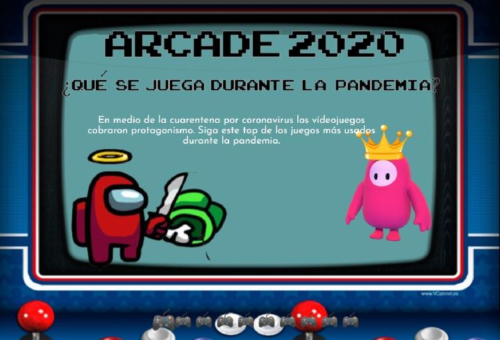 Arcade 2020: ¿qué se juega durante la pandemia?