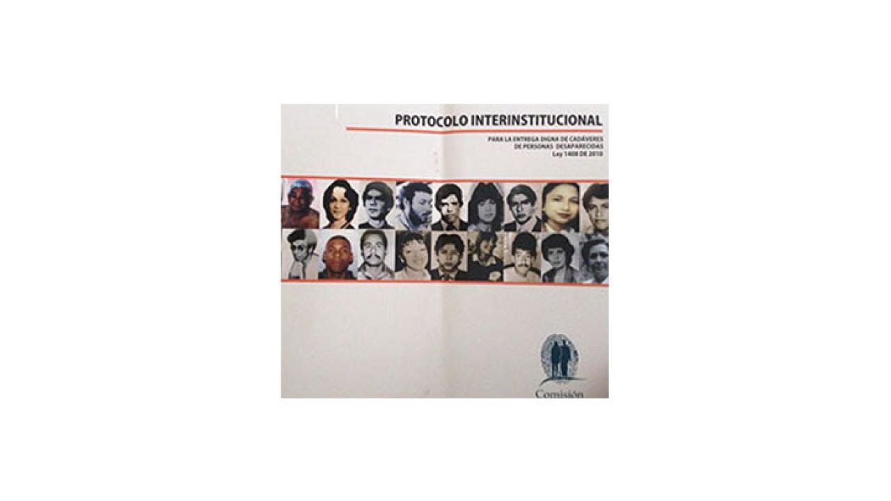 Nuevo protocolo dignifica a familiares de desaparecidos