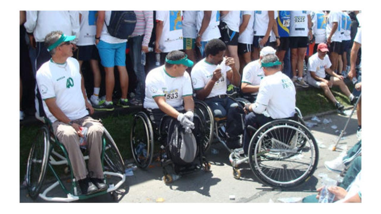 Foto del día: Carrera en beneficio de militares heridos