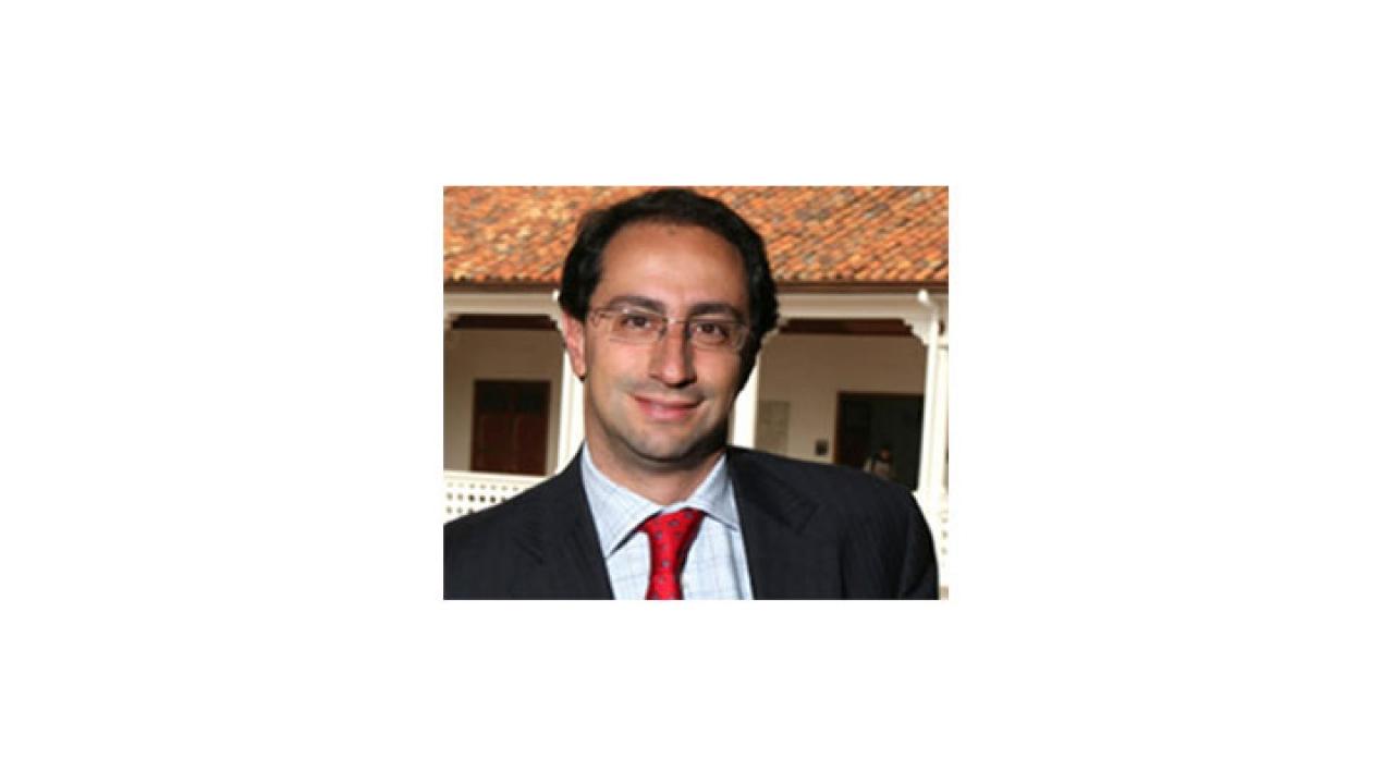 Ceremonia de posesión de José Manuel Restrepo como nuevo rector de la universidad