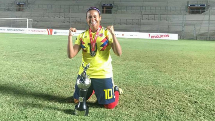 Maireth Pérez. Crédito: Fémina Fútbol