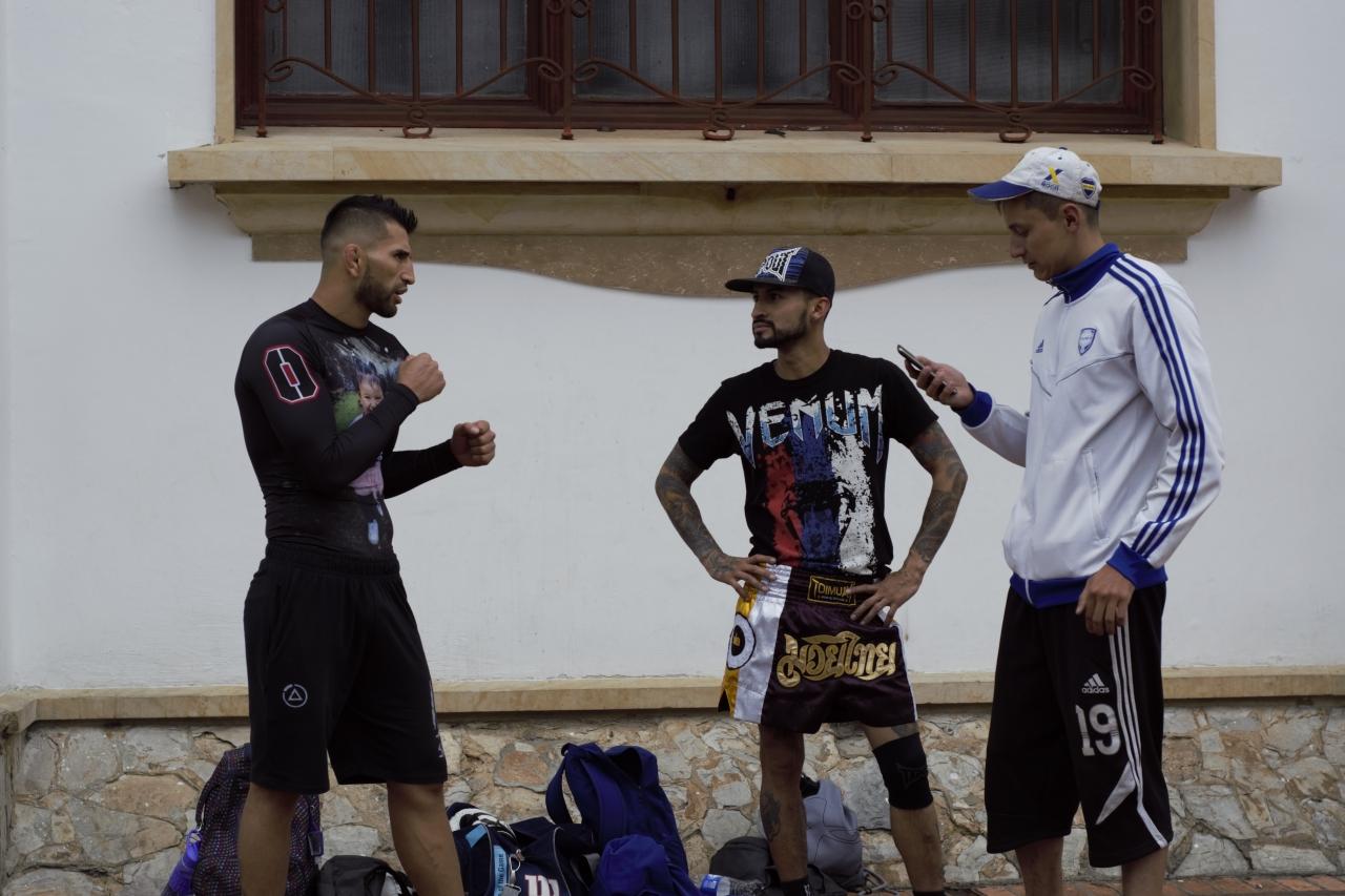 La lucha fuera de la jaula de Alex 'El Rolo' Torres
