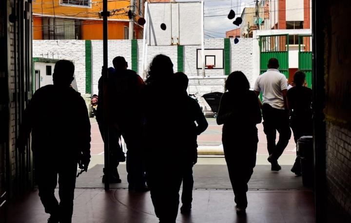 Elecciones en Bogotá. Foto: Nicolas Achury