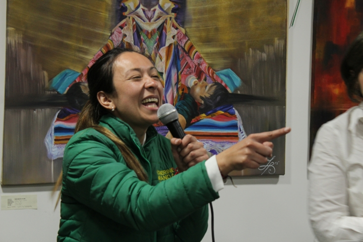 Katherine Miranda, nueva representante a la Cámara por Bogotá. Foto: Sergio Daza