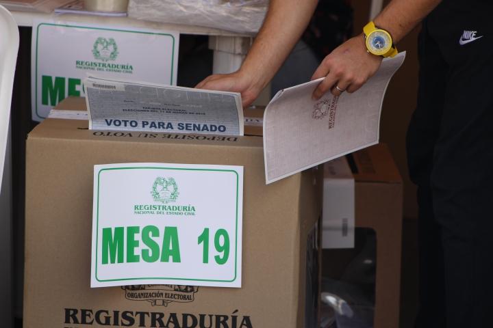 Voto para Senado. Foto: Sergio Daza