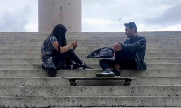 Redes sociales y adolescentes. Foto: Luciano Niño