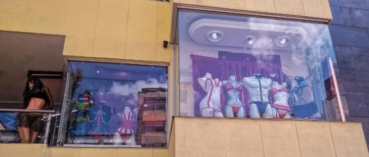 Sexshop en el centro de Bogotá