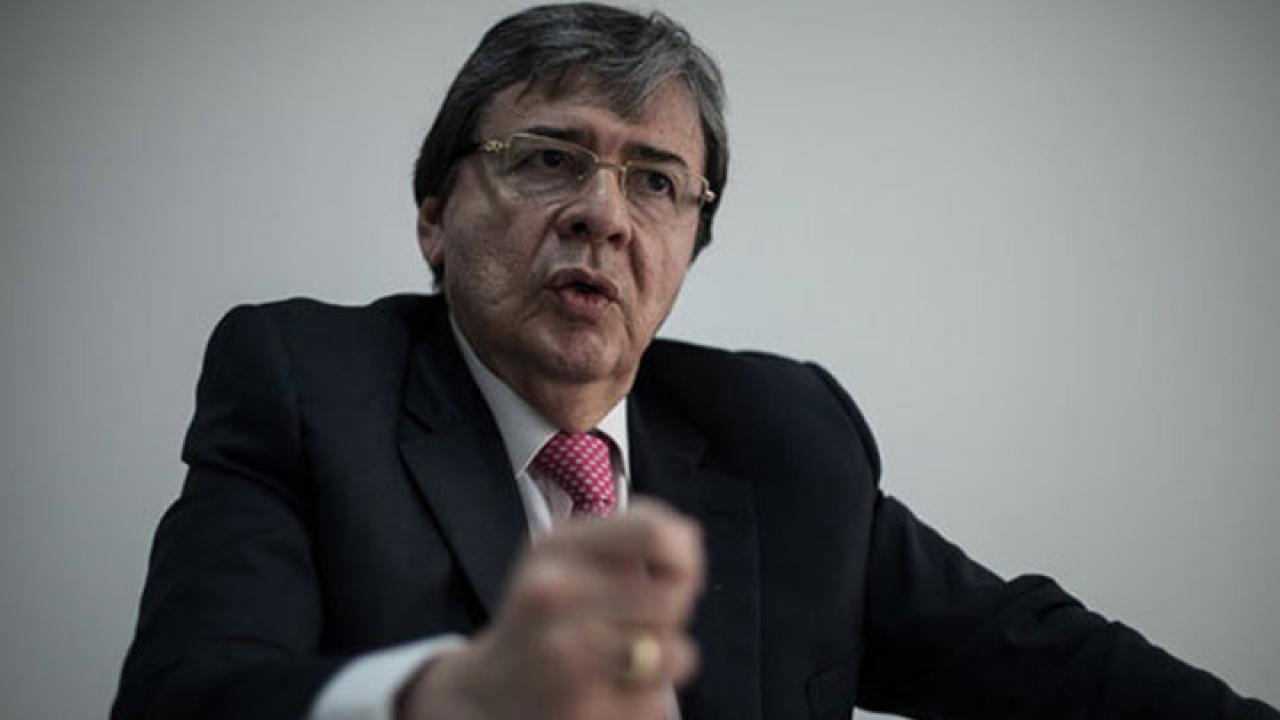 Holmes Trujillo invitó a votar que No y a la renegociación