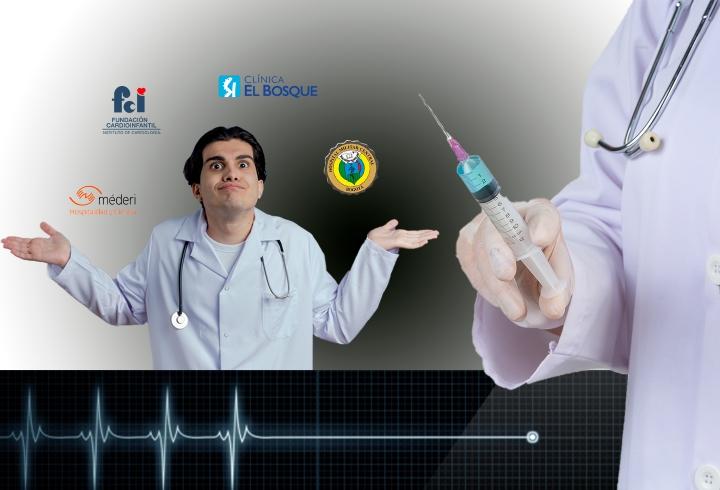 Estudiantes de Medicina del Hospital Méderi exigen garantías en las vacunaciones desde sus redes sociales