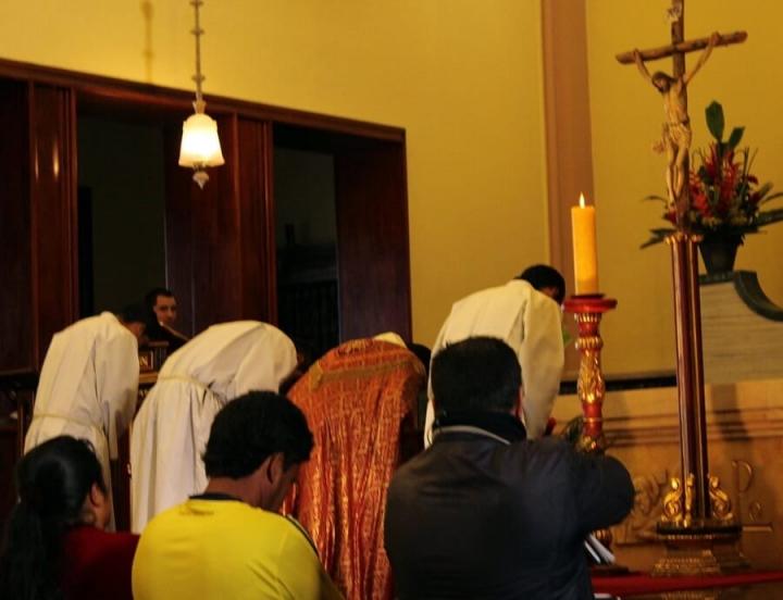 Viernes Santo en Monserrate