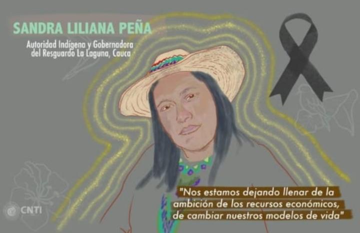 Con el asesinato a la gobernadora indígena del resguardo La Laguna en Cauca, suman 52 muertes a líderes sociales en Colombia en 2021