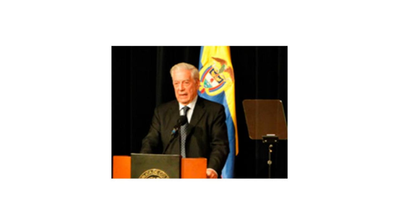 Premio Nobel de Literatura 2010 abrió las puertas al inicio de la FILBO 2014