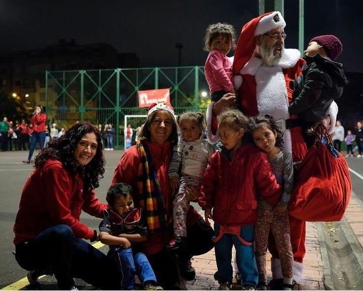 Navidad Pocalana en el barrio mochuelo