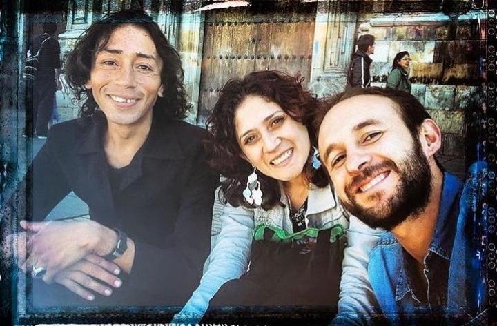 Cesar , Jacqui Hernández y Emilio  Aparicio