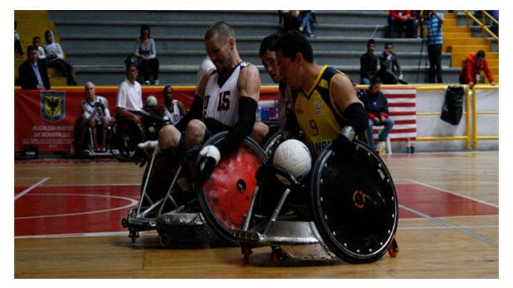 Fugaz Campeonato Panamericano de Rugby en Silla de Ruedas en la capital