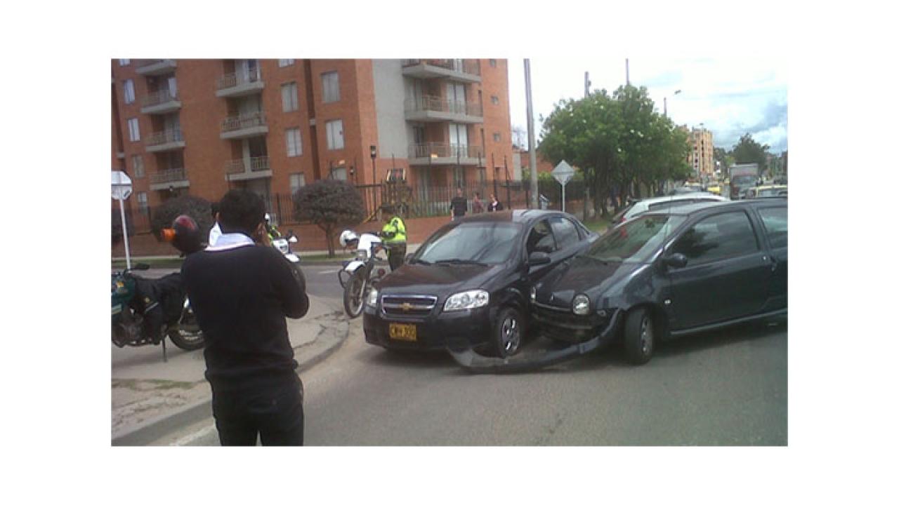 Fuerte Choque Vehicular