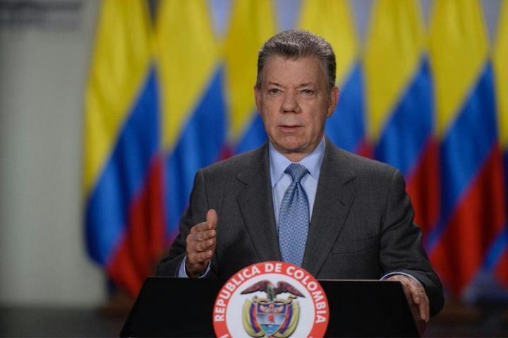 Juan Manuel Santos, presidente de Colombia. Crédito foto: @infopresidencia