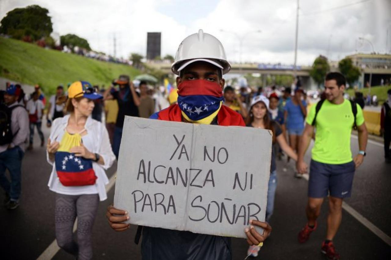Venezolanos, huyendo del infierno llegaron al purgatorio