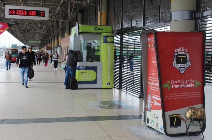 Eco-Transmi en el Portal Tunal.
