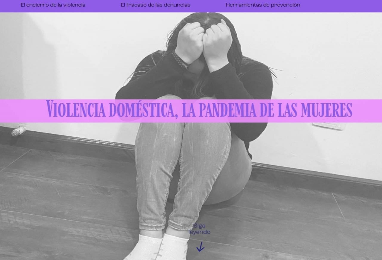 Violencia doméstica, la pandemia de las mujeres