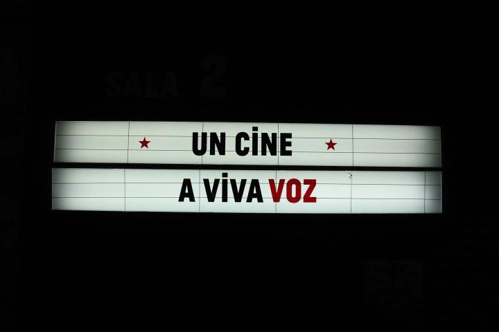 Un cine a viva voz, sala 2 del Museo de Bogotá